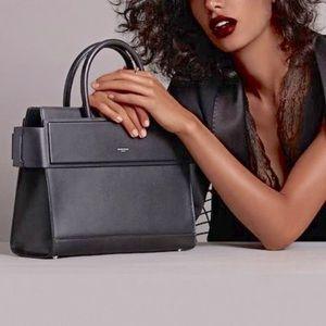 Givenchy Medium Horizon Dark Blue Mastic Bag